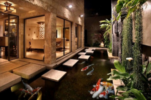 Fresh Home Design with Fantastic Koi Ponds Ideas